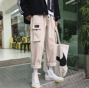 Yesstyle K-fashion Cargo Harem Pants