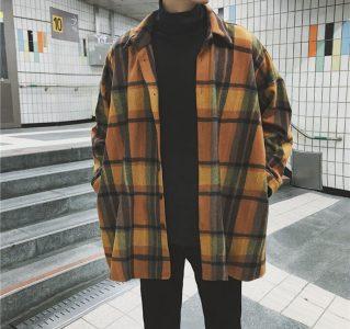 Yesstyle contrast trim flight jacket