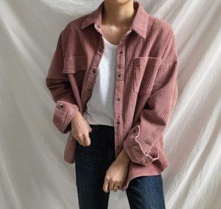 Yesstyle corduroy jacket K-fashion