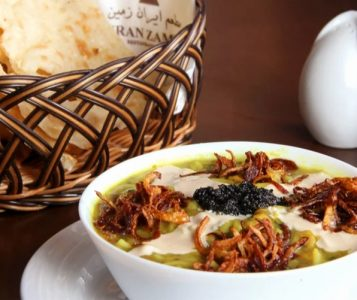 traditional soup - one of the Iftar meals