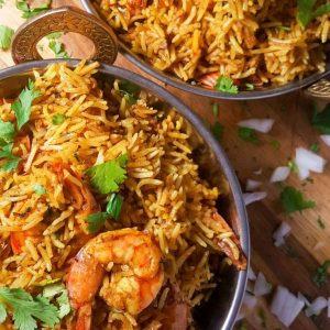 Biryani from Zafran - a popular meal during Ramadan