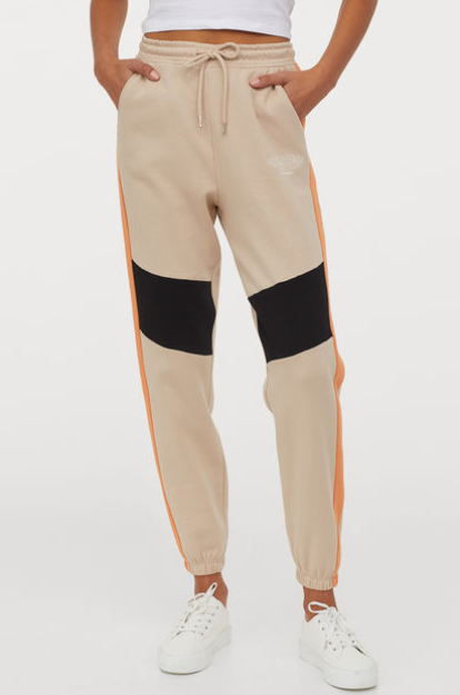 Joggers with Side Stripes for Women