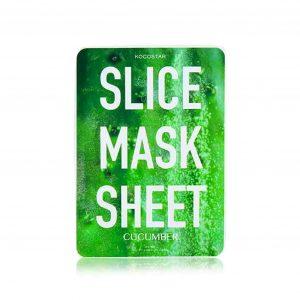 Korean Beauty Products - Kocostar Cucumber Slice Mask Sheet