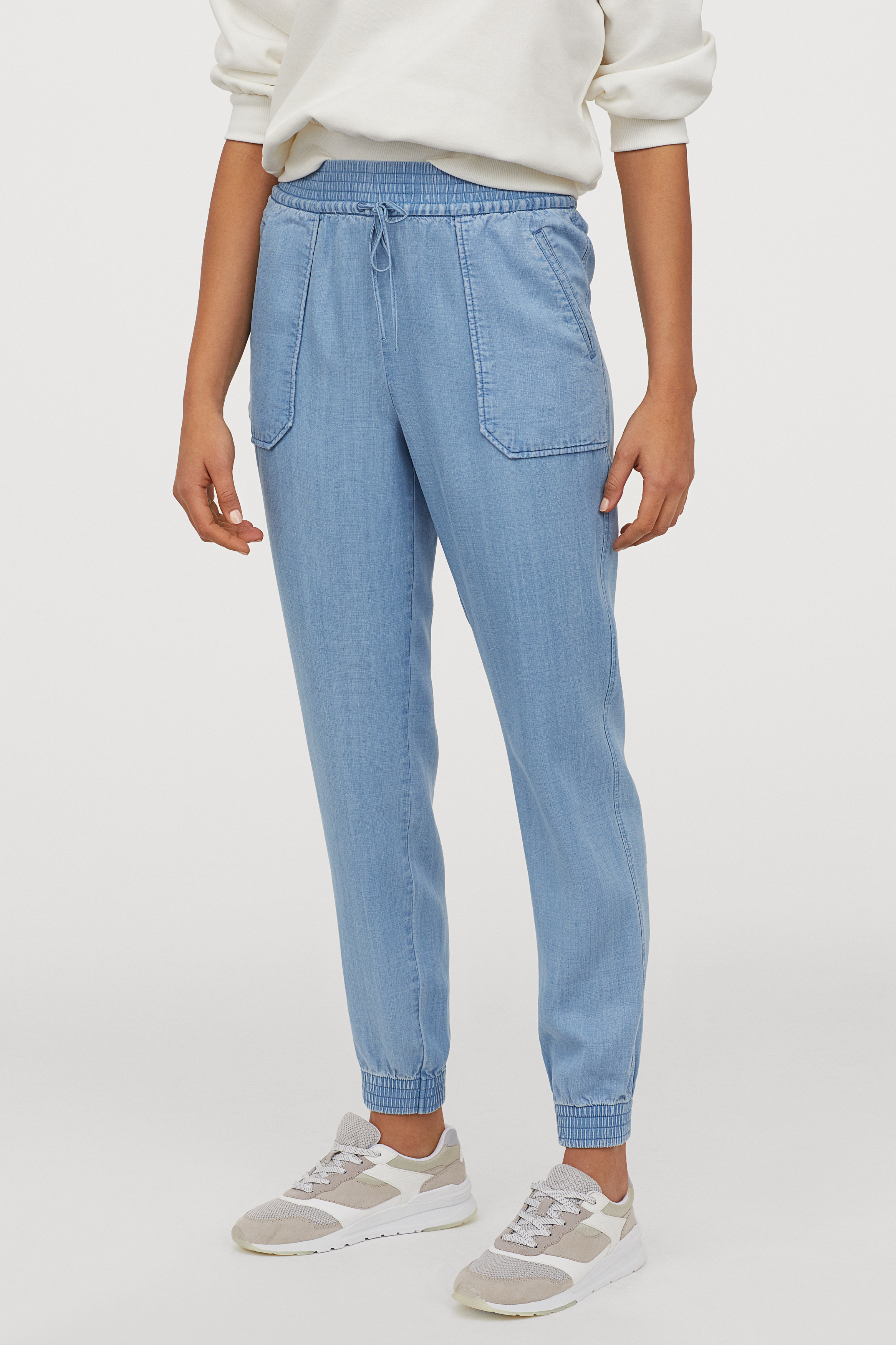 Lyocell Utility Joggers for Women