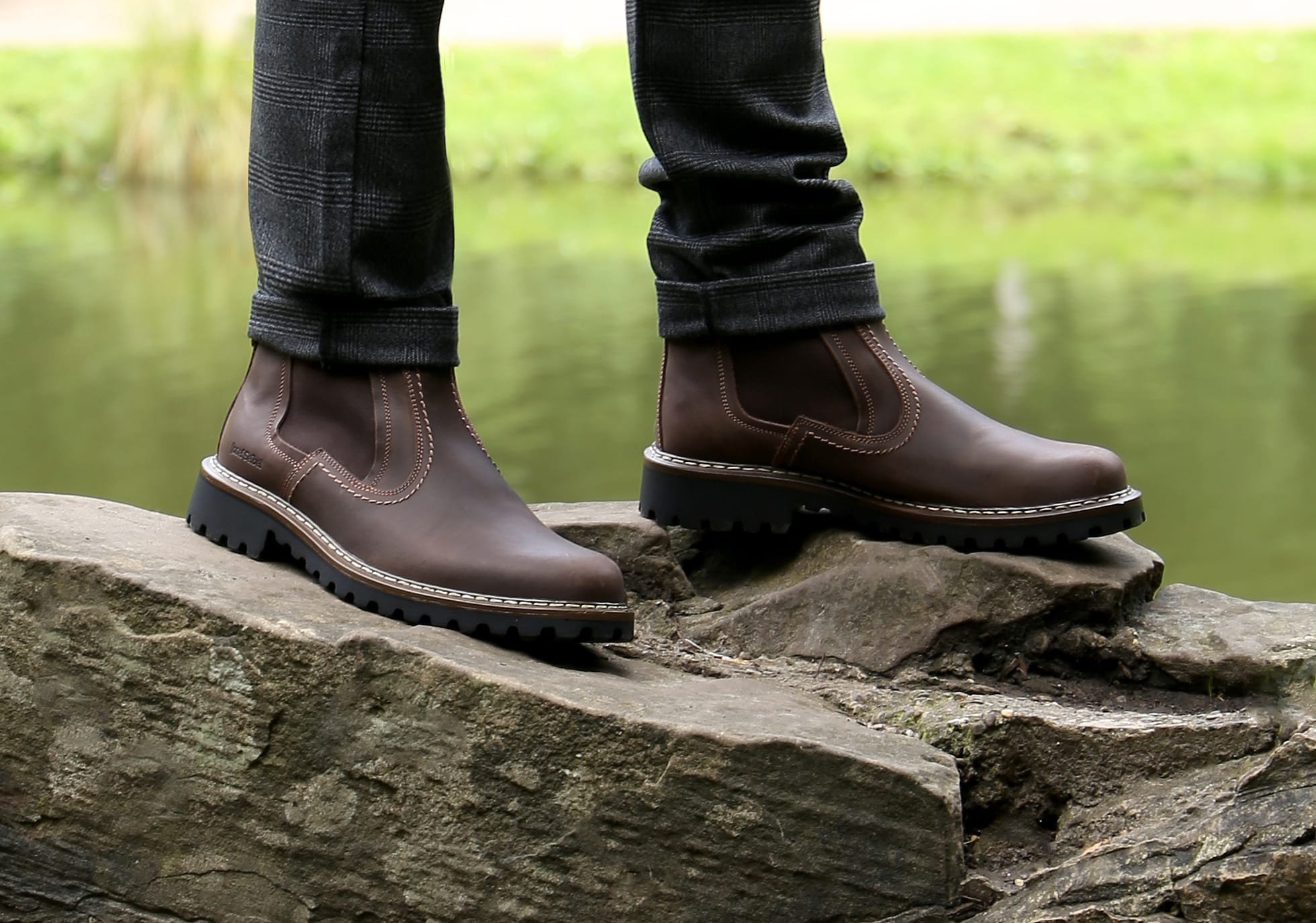 Kick start your New Year with these pair of masculine boots on discount