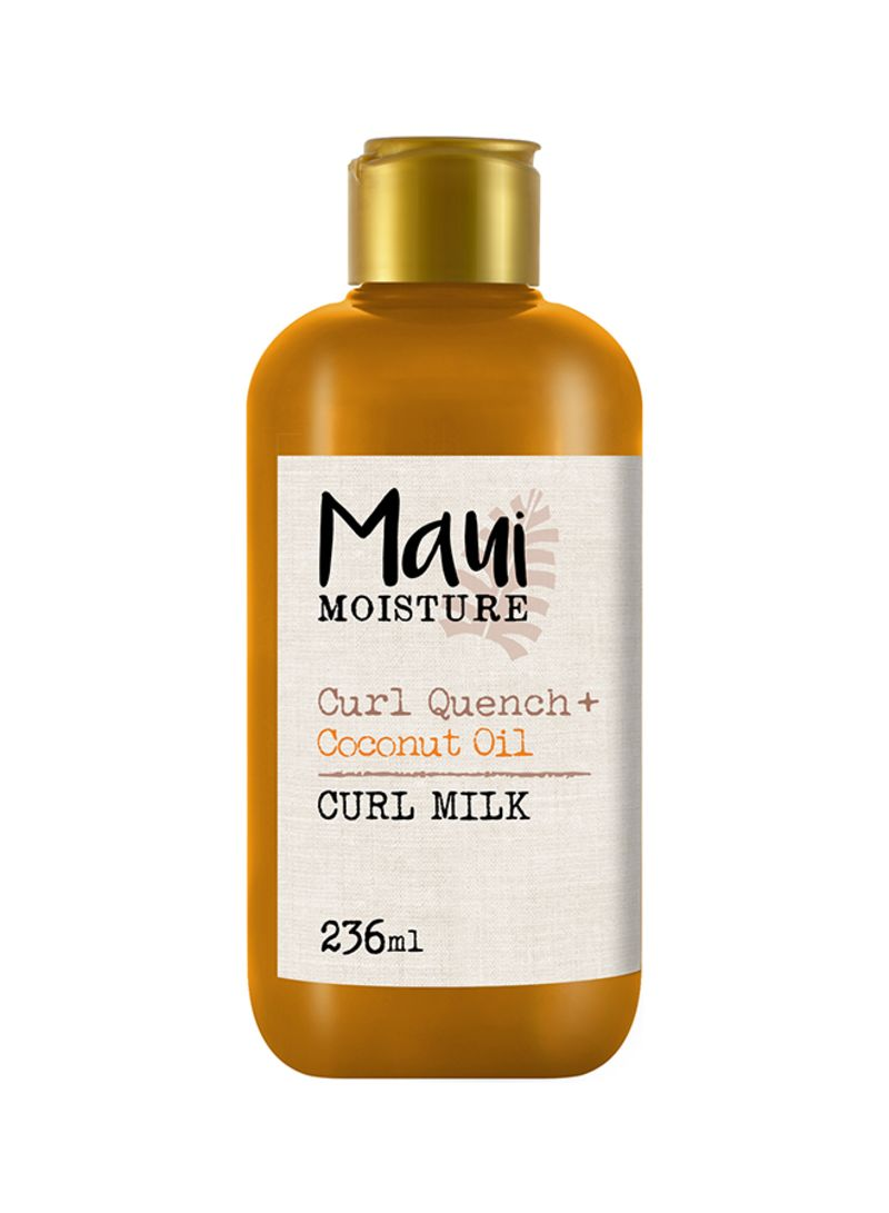 Curl Quench Coconut Oil Curl Smoothie-best hair protection