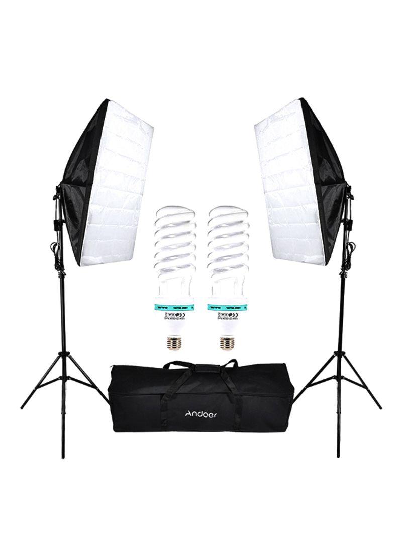 Photography Studio Cube Umbrella Lighting Tent Kit - Andeor umbrella lighting