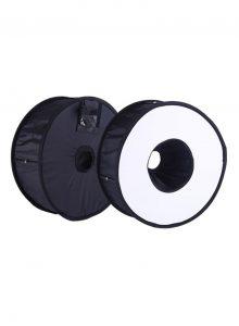 Ring Softbox Speedlight Round Style Flash Light Shoot Soft box Flash Light Black- lighting for vlog