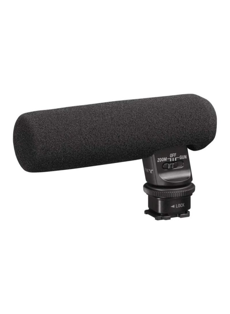 Gun Zoom Microphone ECMGZ1M Black- shotgun microphones from Sony