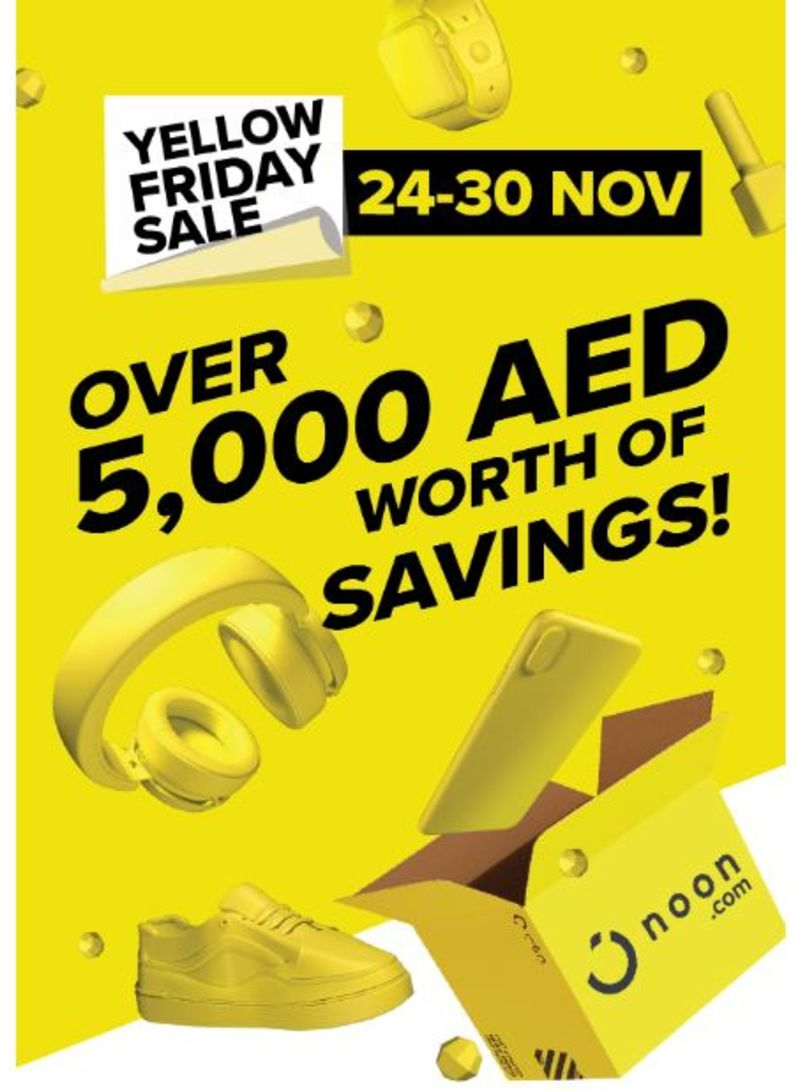 noon's yellow friday sale