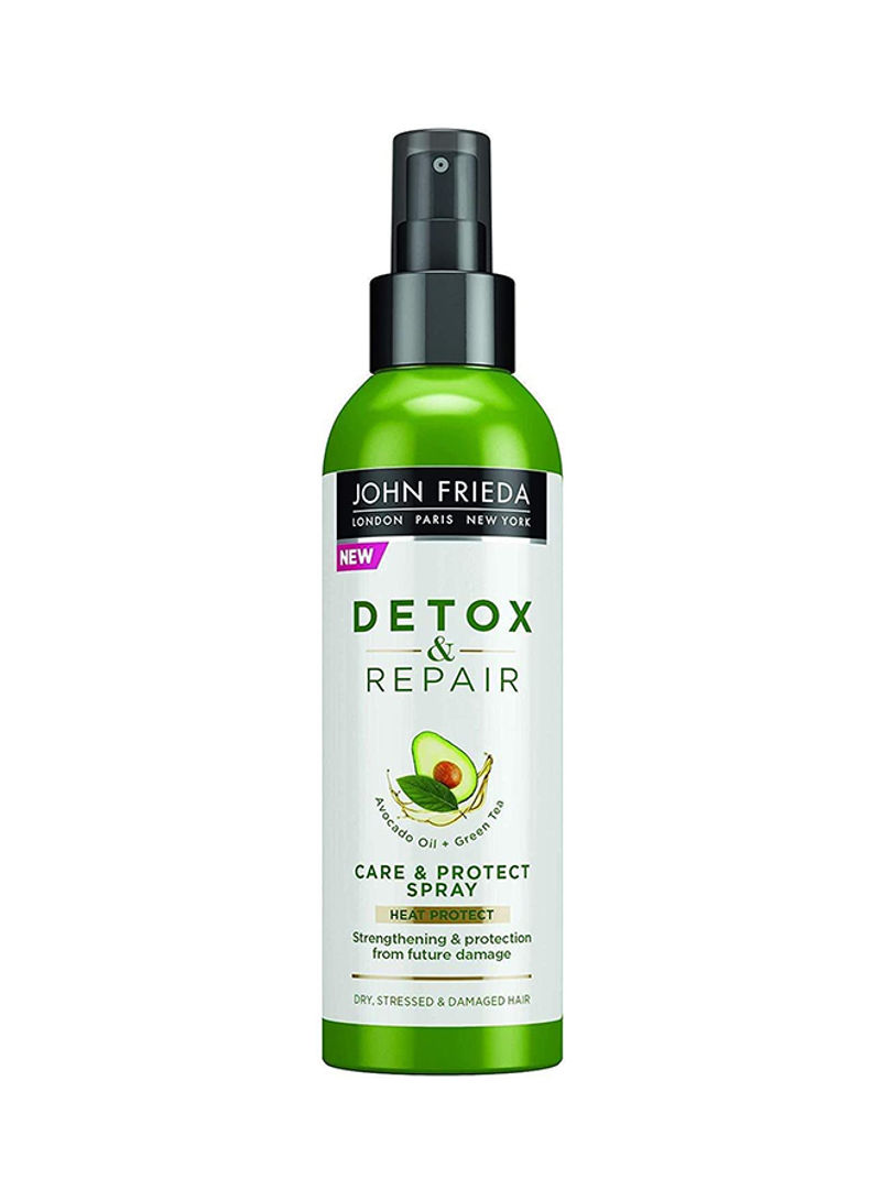 Detox and Repair - Care Heat Protect Spray 200ml- best hair curlers heat protection