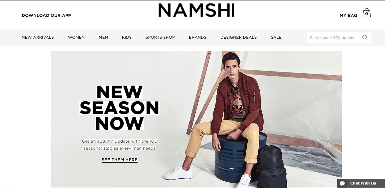 Namshi vcuae