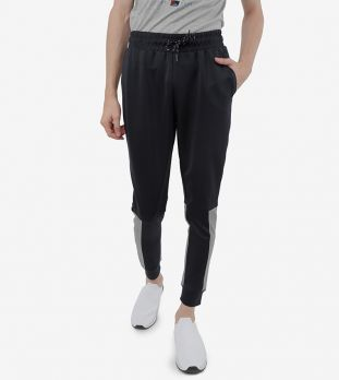 R&B Slim Fit Textured Joggers for Men