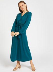 TikTok green dress from Shein