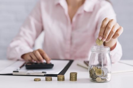 ways to save - count money