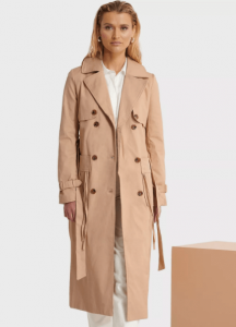 Holiday outfits -Trench cout