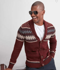 holiday outfits - Jacquard Cardigan