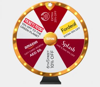 VoucherCodesUAE Wheel of Fortune Online