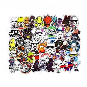 Star Wars merch: Star Wars PVC Sticker (100 Pcs. Set)