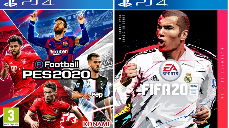 FIFA 2020 or PES 2020? Which one would you choose?