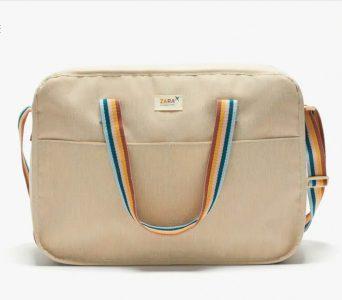 Weekender bags - Camel Brown Travel Bag