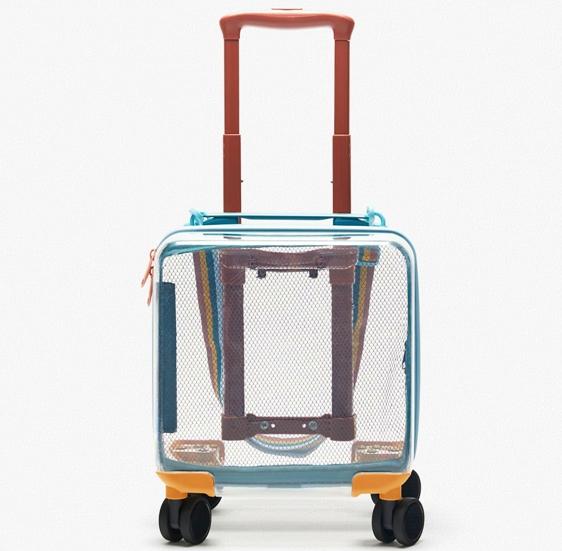 Weekender bags - Transparent Travel Suitcase