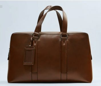 Weekender bags - Monochrome Bowling-Style Handbag
