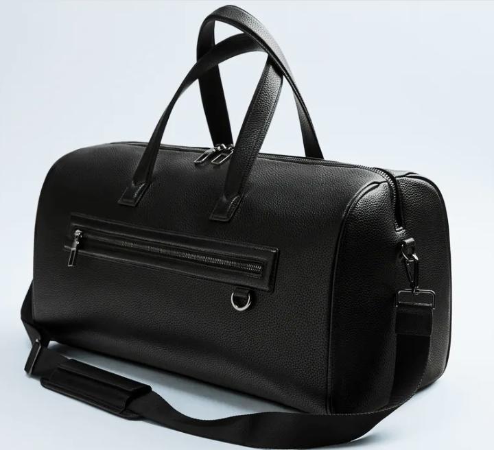 Weekender bags - minimalist black bag