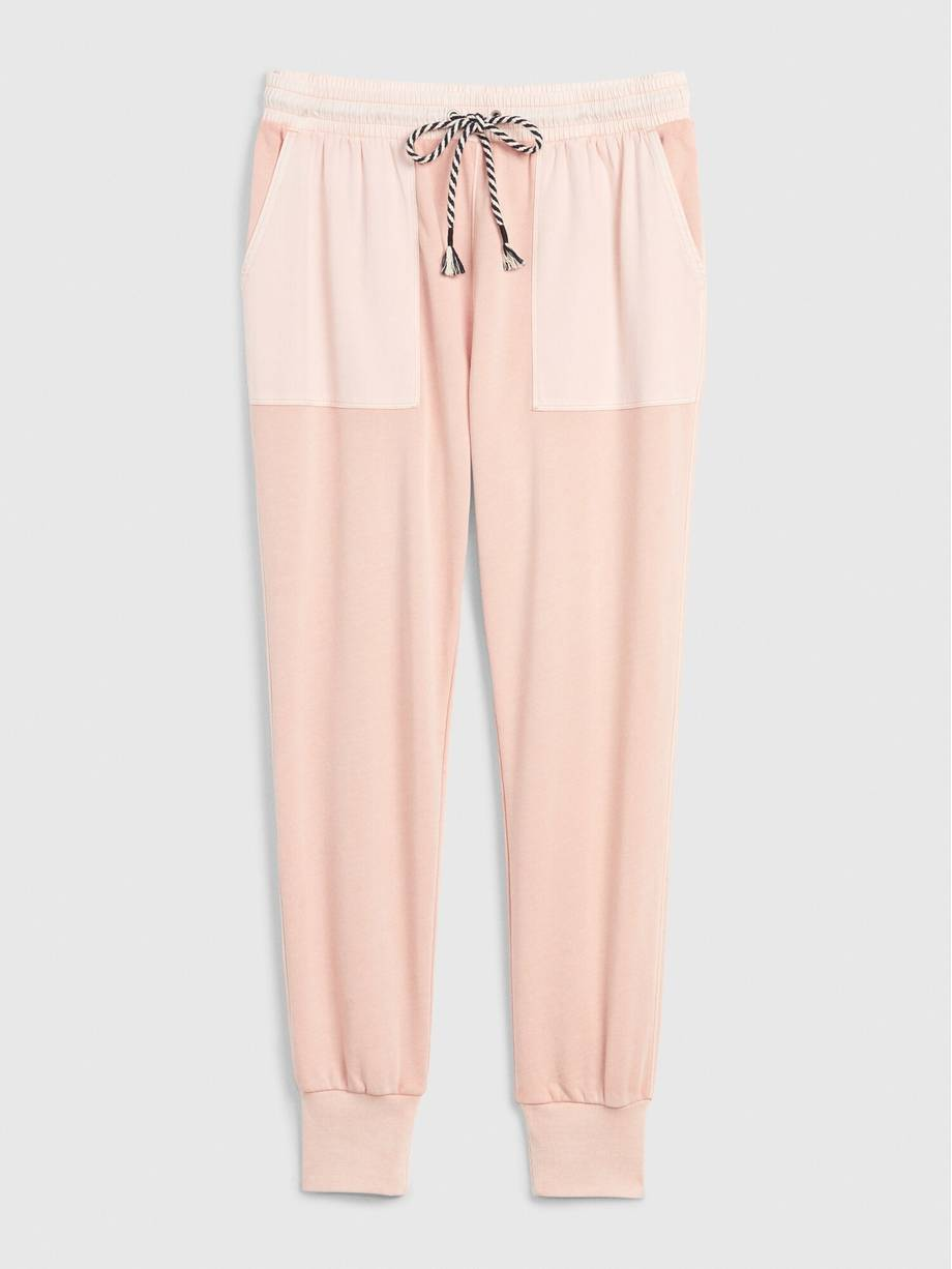 Woven Mix Joggers for Women