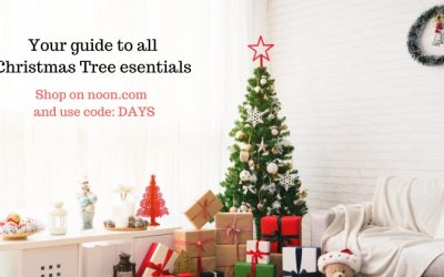 Design your perfect Christmas tree with Noon UAE