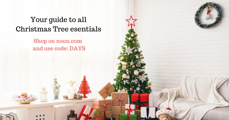 Perfect Christmas tree with Noon UAE