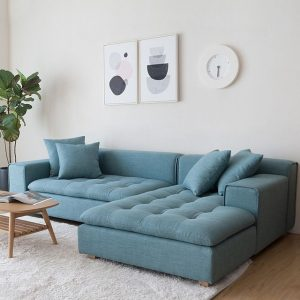IF 8 L-shape Sofa-Blue from Homzmart