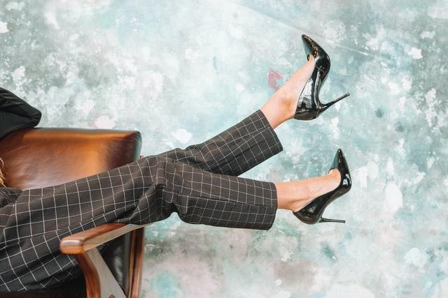Comfortable high heels shoes