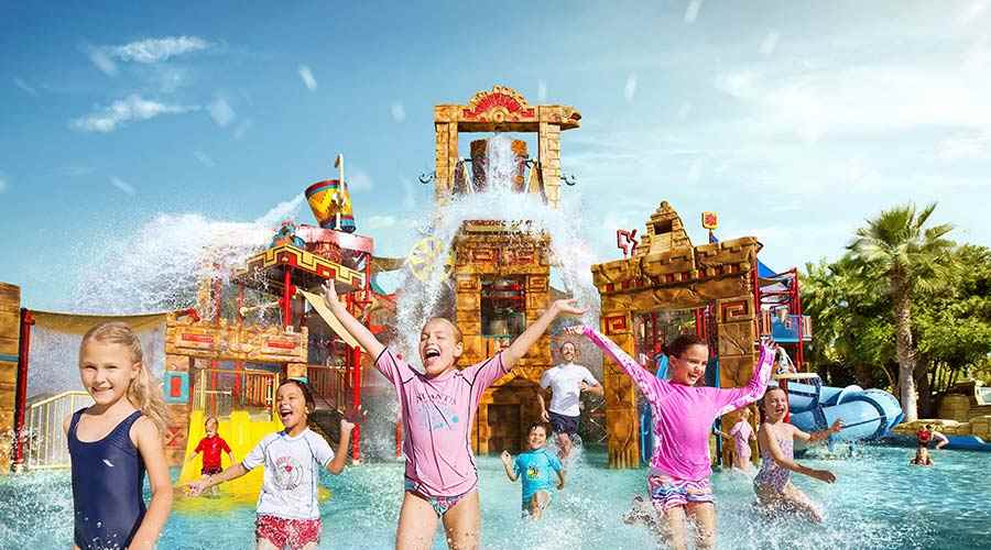 Atlantis the Palm Aquaventure park
