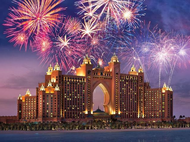Atlantis, The Palm is the best place to spend New Year's in Dubai