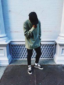 mens fashion trends white socks