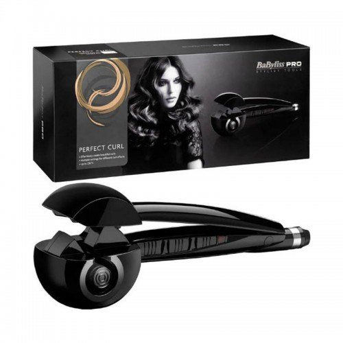 BaBylissPRO Perfect Curl Hair Styler Black VoucherCodesUAE