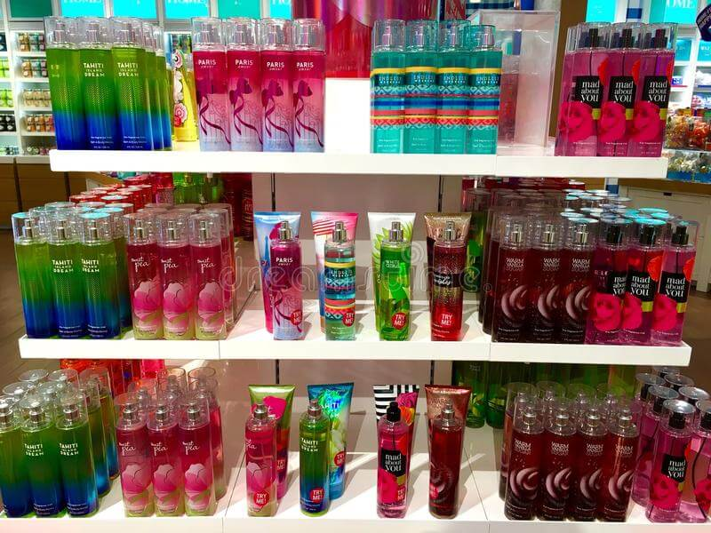 Favourites-body care from Bath & Body Works