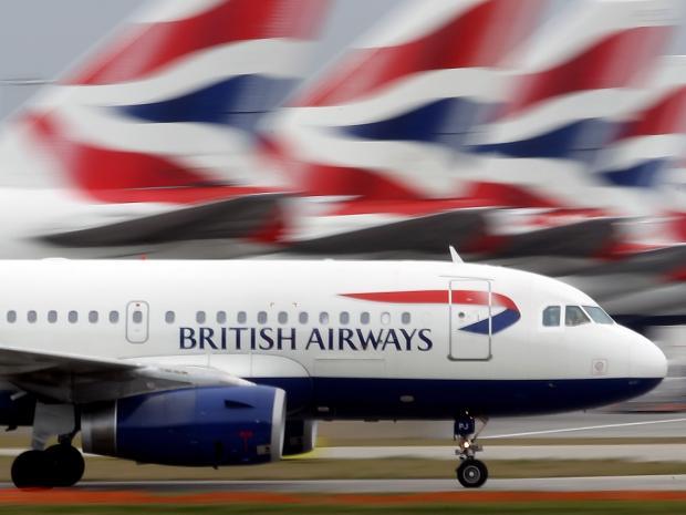 British Airways codes