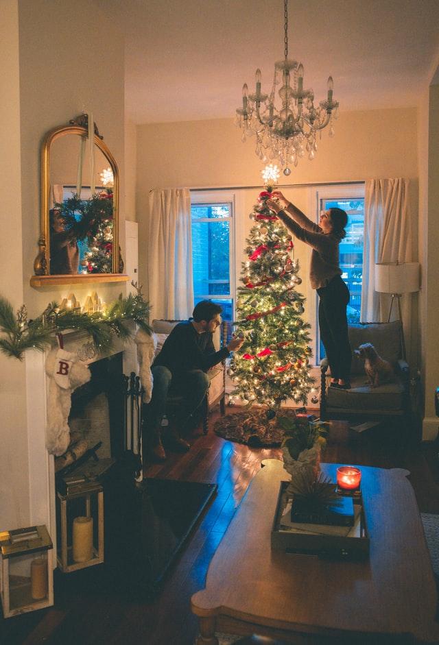 christmas interior house decorations - Christmas Tree