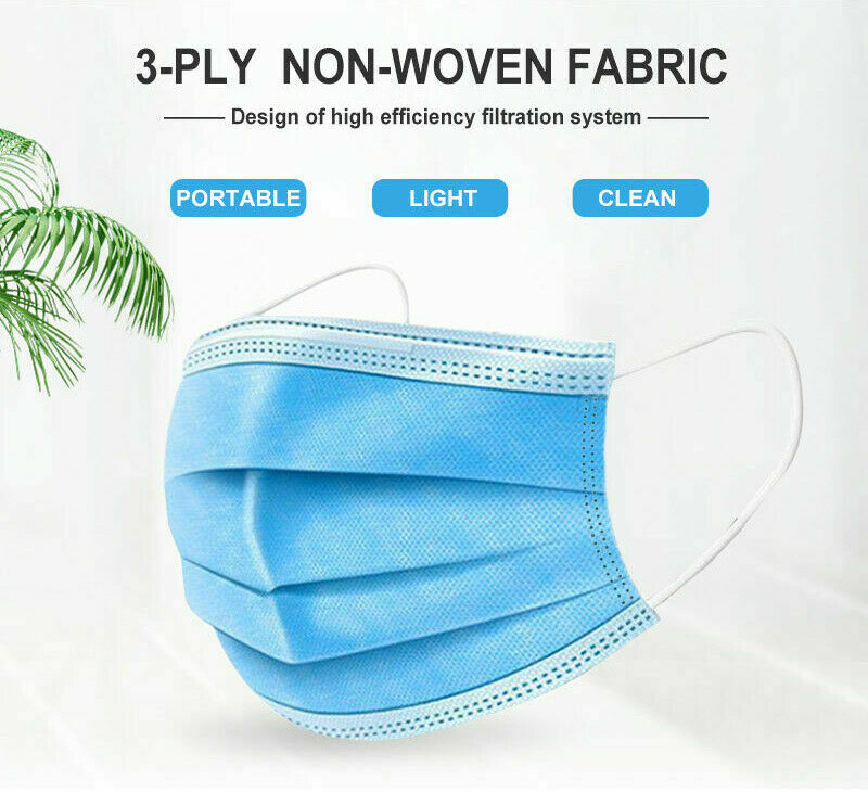 50 Anti-Virus Disposable Face Surgical Mask