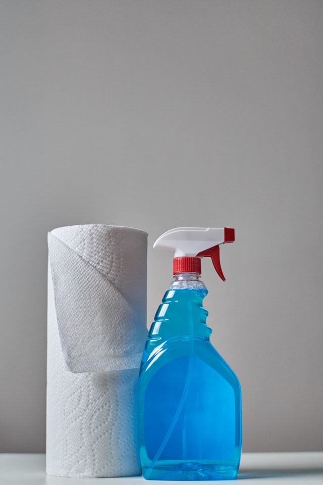 House party essentials - Cleaning supplies