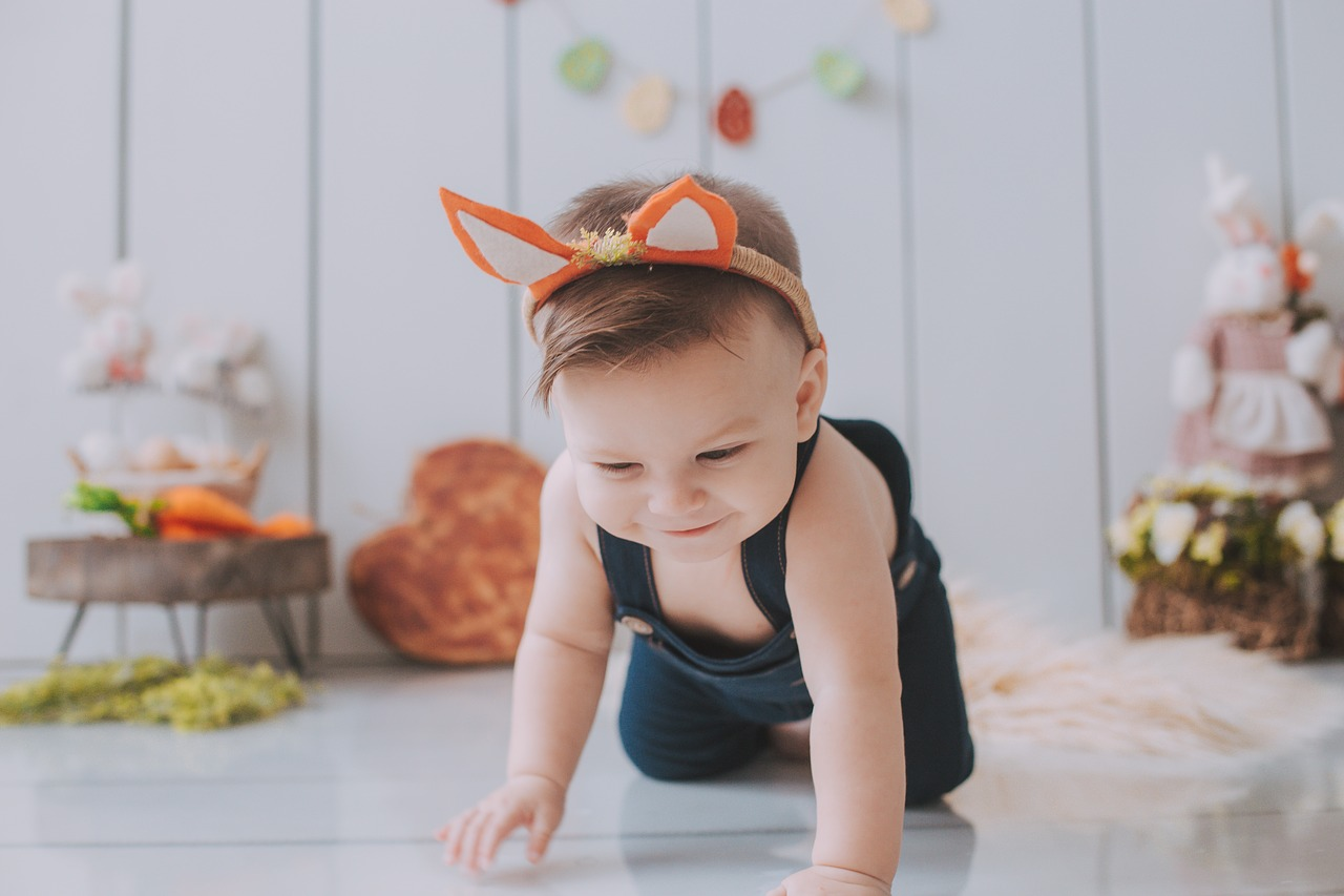 Best ideas for an Easter-themed baby photo shoot
