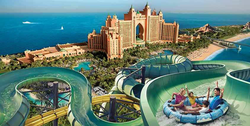 Aqua-Fun In The Sun At Atlantis The Palm