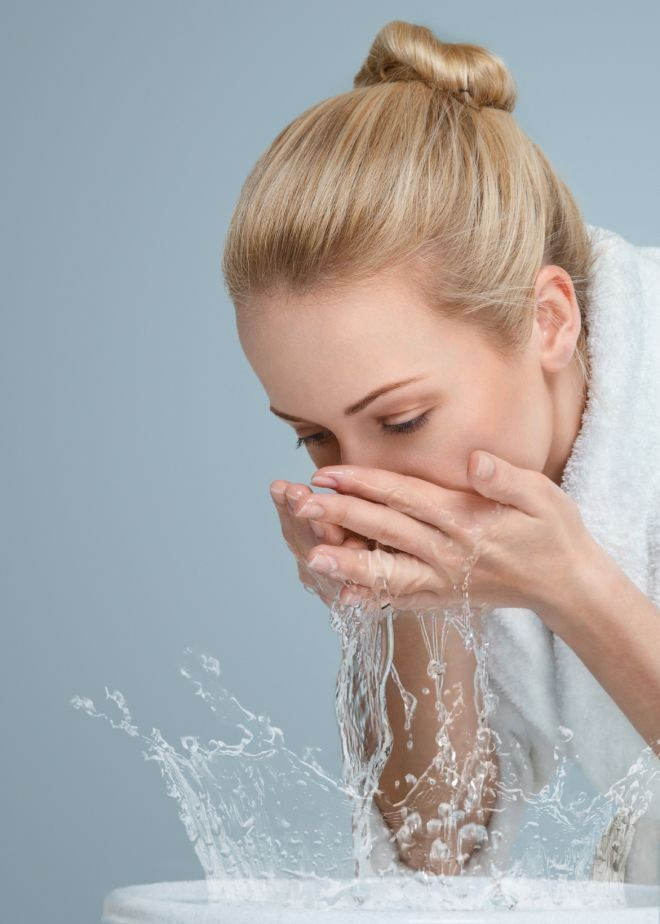 Home skin care rountine