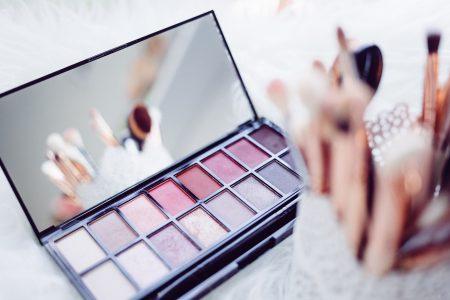 best vegan makeup - colorful pallet