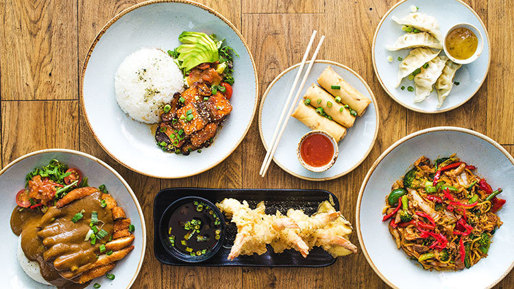 Flavorful cuisines from Deliveroo - japanese