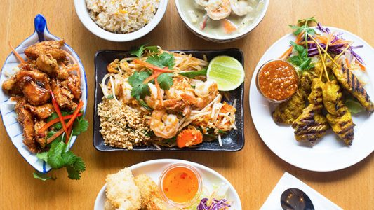 Flavorful cuisines from Deliveroo from Thailand
