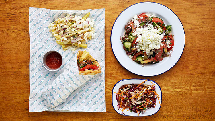 Flavorful cuisines from Deliveroo greek
