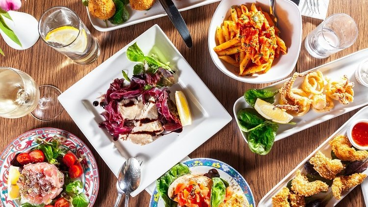 Flavorful cuisines from Deliveroo Italian cuisine